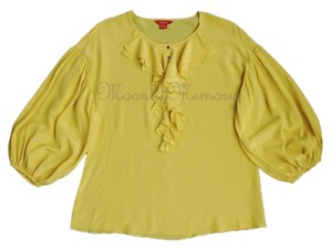 Sundance Silk Top Yellow