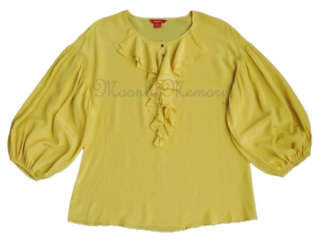 Sundance Silk Without Tags Top Yellow