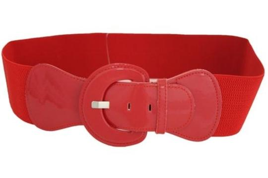 Alwaystyle4you Women Fashion Belt Hip High Waist True Red Elastic Buckle Plus Image 1