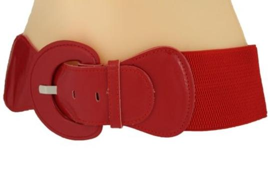 Alwaystyle4you Women Fashion Belt Hip High Waist True Red Elastic Buckle Plus Image 11