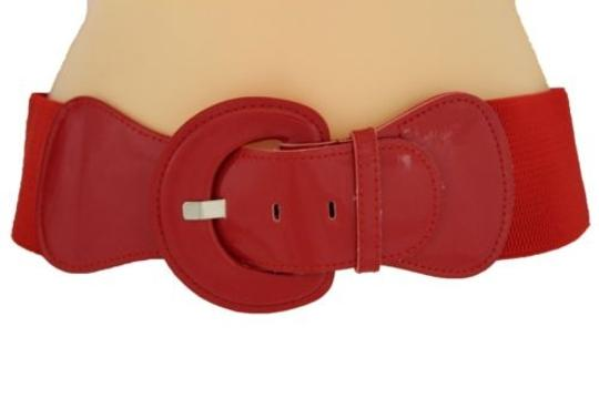Alwaystyle4you Women Fashion Belt Hip High Waist True Red Elastic Buckle Plus Image 5