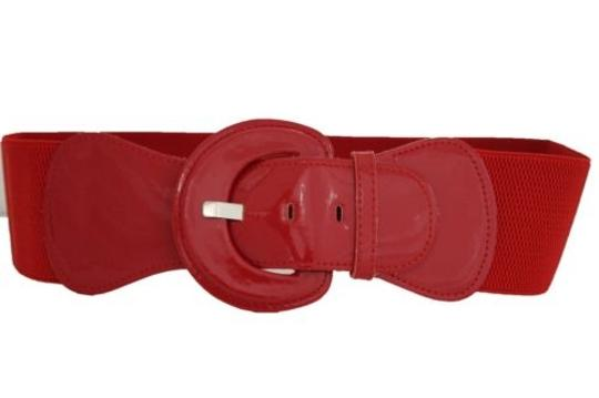 Alwaystyle4you Women Fashion Belt Hip High Waist True Red Elastic Buckle Plus Image 8
