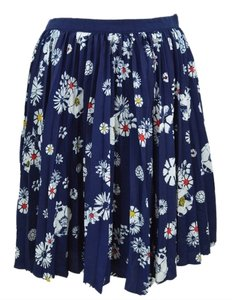 Jason Wu Mini Skirt Navy