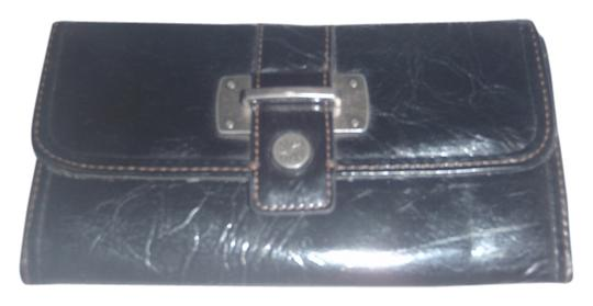 Simply Vera Vera Wang Simply Vera Vera Wang Black Man Made Trifold Wallet