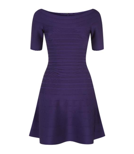 Preload https://item4.tradesy.com/images/herve-leger-purple-liza-fit-flare-bandage-above-knee-night-out-dress-size-0-xs-4334923-0-3.jpg?width=400&height=650