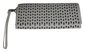 Nine 9 Nine 9 wristlets /cluthes / wallet black and white woven