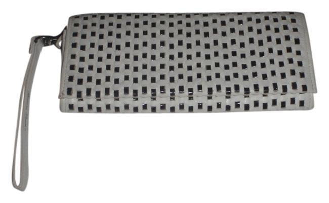 Black & White Wristlets /Cluthes / and Woven Wallet Black & White Wristlets /Cluthes / and Woven Wallet Image 1