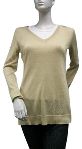 Rafaella Gold Sparkle Sweater