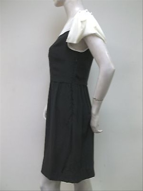 Other By Smith White Cap Sleeve 100 Silk Dress
