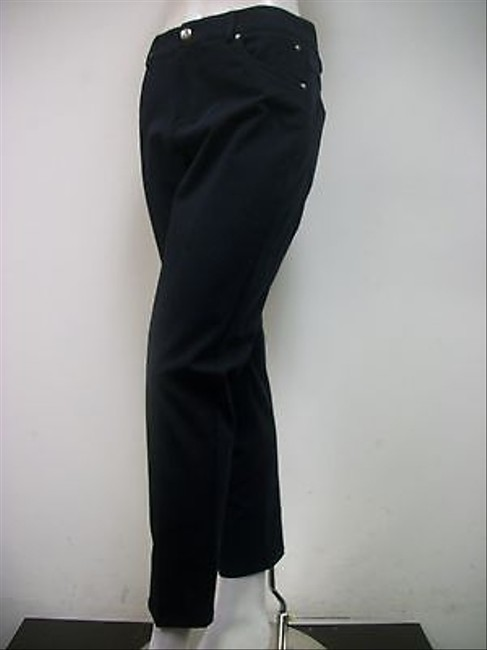 Other A Woman Blend Cropped Style Made In Usa Capri/Cropped Pants Navy