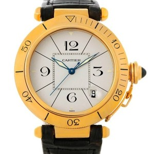 Cartier Cartier Pasha 38mm 18k Yellow Gold Automatic Mens Watch