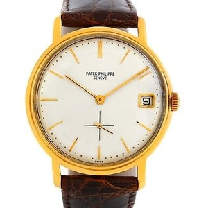 Patek Philippe Patek Philippe Calatrava Vintage 18k Yellow Gold Watch 3445