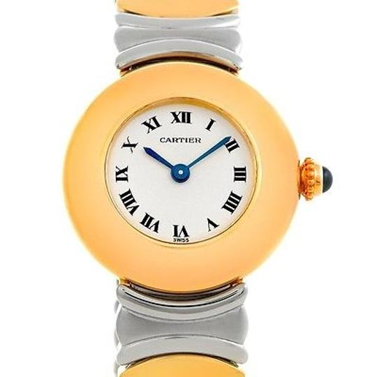 Preload https://item4.tradesy.com/images/cartier-silver-baignoire-ladies-steel-18k-yellow-gold-watch-4339453-0-0.jpg?width=440&height=440