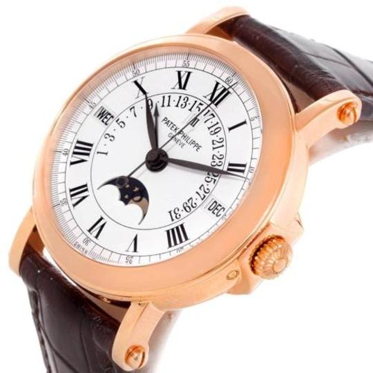 Patek Philippe Patek Philippe Perpetual Calendar Retrograde 18k Rose Gold Watch 5059R