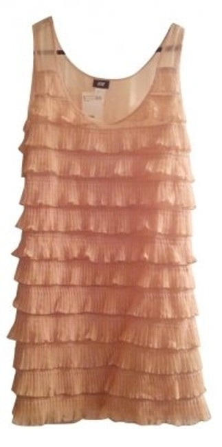Preload https://item1.tradesy.com/images/h-and-m-pink-ruffles-mini-cocktail-dress-size-8-m-4340-0-0.jpg?width=400&height=650