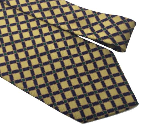 Preload https://item3.tradesy.com/images/burberry-yellow-blue-green-silk-check-necktie-4340707-0-0.jpg?width=440&height=440
