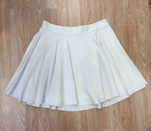 MILLY Mini Mini Skirt Ivory