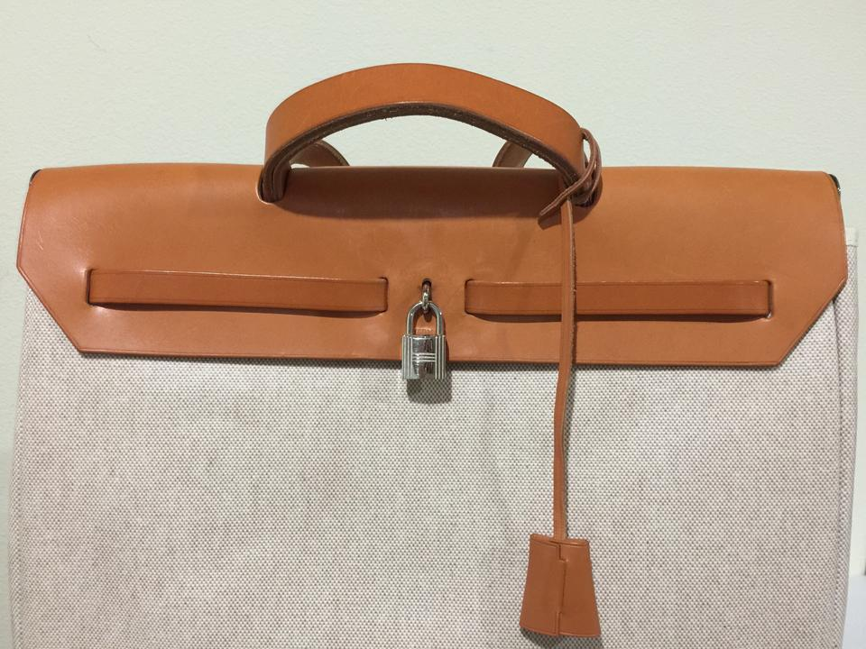 hermes constance bag price - Herm��s Large Beige Cotton 'herbag Mm' With Interchangeable ...