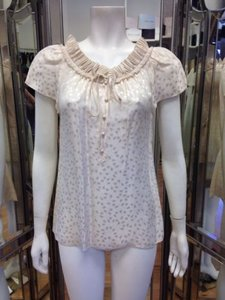 Marc Jacobs Floral Top Cream