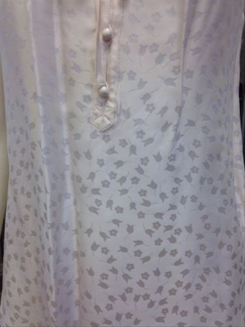 Marc Jacobs Floral Short Sleeve Top Cream