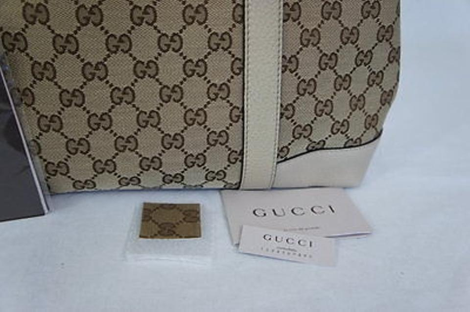 f3426fe400541 Gucci Miss Gg Gg Canvas Tote in OATMEAL Image 10. 1234567891011