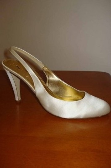 J.Crew Ivory New Cate Satin Formal Size US 8.5