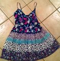 bebe short dress Navy, pink, white, teal Summer Size Small Floral P1516 on Tradesy Image 2