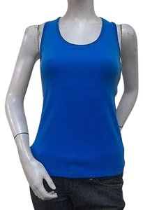 Other I Am Beyond Rivra Blue Racerback Yoga Top Sp4002