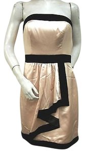 Miss Sixty Margot Party Mxa1019 Strapless Faux Wrap Skirt Dress