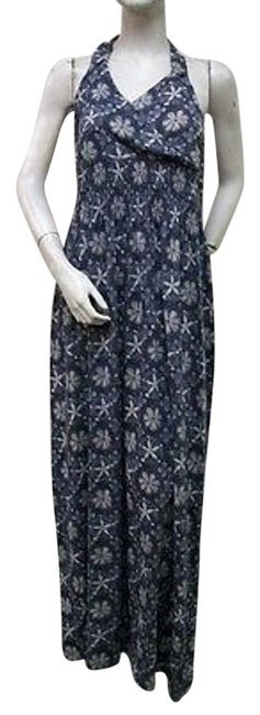 Other short dress Blue North River Floral Print Halter Style Nrl0001 on Tradesy