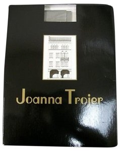 Other Joanna Trojer Satin Opaque Panty Hose Grigio Gray 1