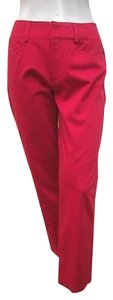 A Woman Pamela Dress Capri/Cropped Pants Red