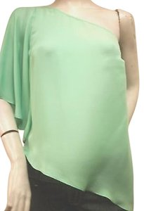 Alice & Trixie Mint Silk One Top Green