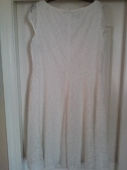 Evan Picone Fit & Flare Lace Dress Image 2