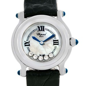 Chopard Chopard Happy Sport Mother Of Pearl Dial Diamond Watch 278245-23