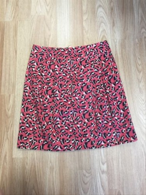 Marc by Marc Jacobs Hot Pink Animal Print Skirt Multi-Color