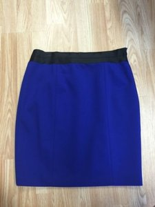 Tahari Royal Pencil Skirt Blue