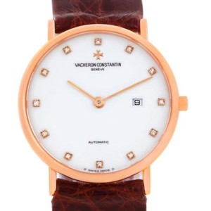 Vacheron Constantin Vacheron Constantin Patrimony 18k Rose Gold Diamond Watch 39005