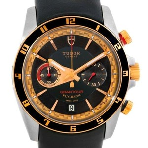 Tudor Tudor Grantour Fly-back Chrono Steel Rose Gold Watch 79220R Unworn