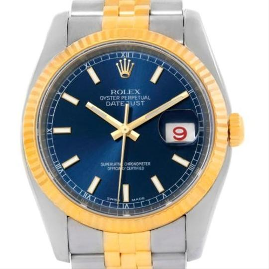 Preload https://item3.tradesy.com/images/rolex-rolex-datejust-mens-steel-18k-yellow-gold-blue-dial-watch-116233-4363402-0-0.jpg?width=440&height=440