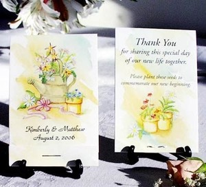 Yellow Garden Watering Pot Flower Favors