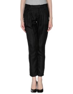 See by Chloé Chloe Womens Silk Pleated Front Capri Cropped X Pants