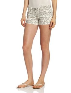 Lucky Brand Womens Animal Cut Off Denim Low Rise Riley 7w11806 Shorts Multi-Color