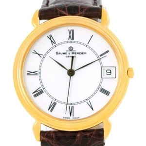 Baume & Mercier Baume Mercier Classima Quartz 18k Yellow Gold Watch 15163