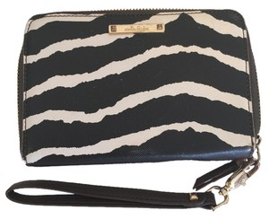 Stella & Dot Wristlet in Black & White Zebra print