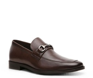 Aston Grey Haywood Mens Leather Slip On Dress Shoes -brown-13