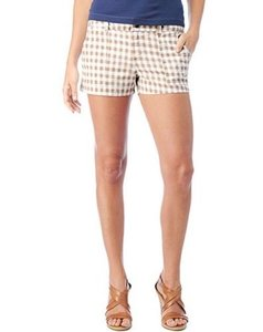 Splendid Womens White Shorts Brown
