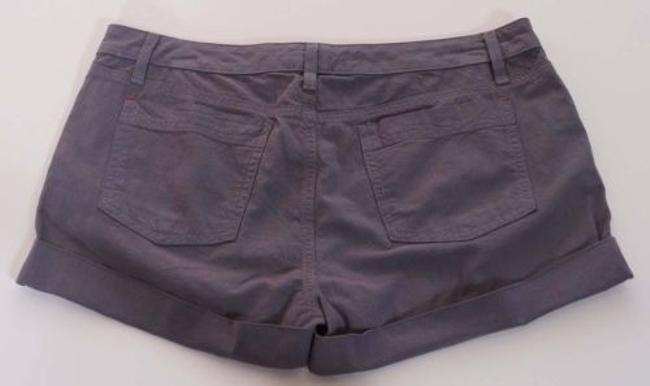 Splendid Womens Blue Striped Cuffed Railroad Swb7k376 Shorts Gray