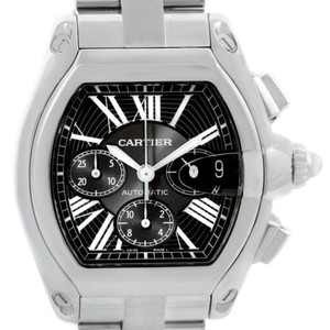 Cartier Cartier Roadster Chronograph Black Dial Mens Watch W62020x6