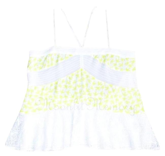 Preload https://img-static.tradesy.com/item/4373887/anthropologie-yellow-white-l-new-leifnotes-blouse-birds-tunic-flowy-tank-topcami-size-14-l-0-8-650-650.jpg